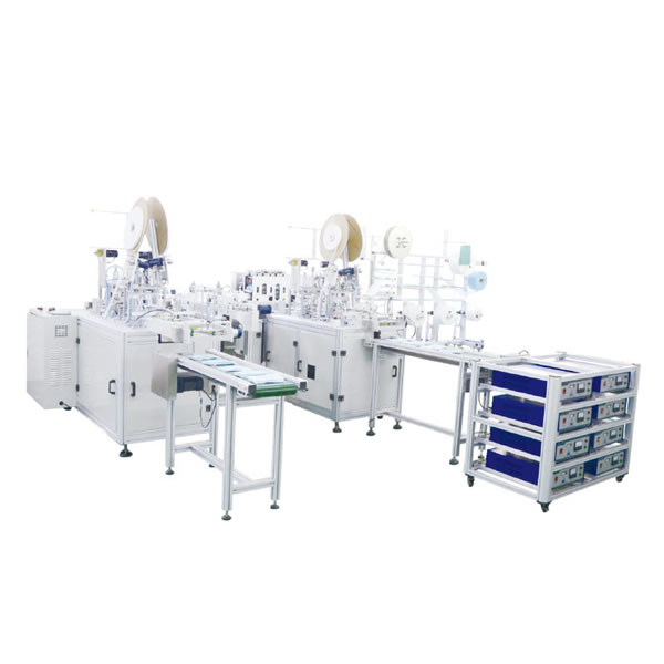 Semi-Automatic Ear Loop Face Mask Making Machine